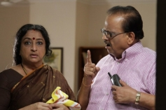 SP Balasubramaniam and Lakshmi