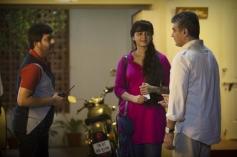 Vivek, Ajith and Anushka Shetty