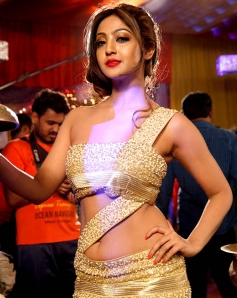 Aindrita Ray in Sharp Shoooter Song Shooting