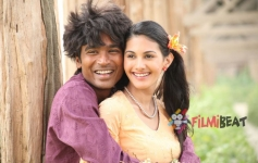 Amyra Dastur and Dhanush