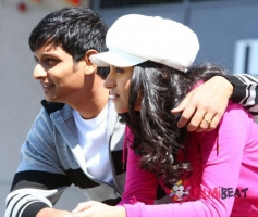Jiiva and Trisha