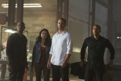 Ludacris, Michelle Rodriguez, Tyrese Gibson and Paul Walker