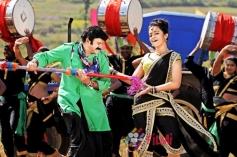 Balakrishna and Trisha Krishnan