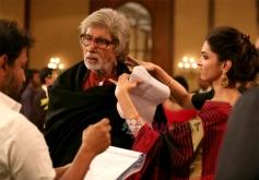 Deepika Padukone and Amitabh Bachchan in Piku