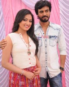 Haripriya & Preetham Puneeth in Rajadhani 2
