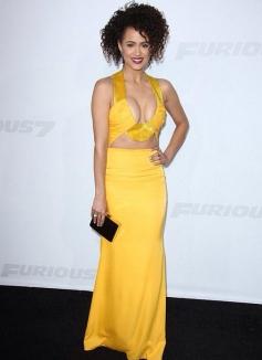 Nathalie Emmanuel at Furious 7 Premiere