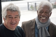 Morgan Freeman And  Richard Loncraine