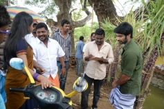 Chandi Veeran Movie Working Still