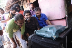 Oru Kuppai Kathai Movie Working Still