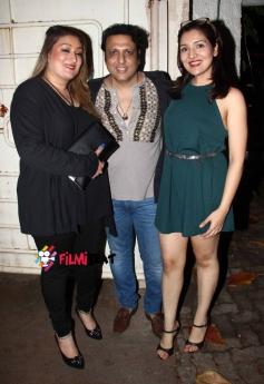 Govinda, Sunita And Yashwardhan