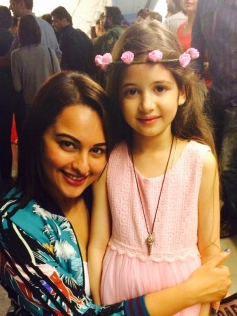 Harshaali Malhotra And Sonakshi Sinha