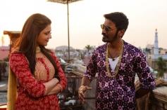 Kajal Aggarwal & Dhanush in Maari
