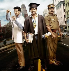 Santhanam, Jai and VTV Ganesh