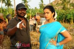 Tripura Movie Working Still