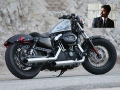 Danush's  Harley Davidson Bike