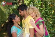 Kavya , Farook &Tanya in 141 (I Love U)
