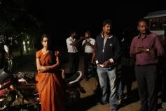 Kutram Kadithal Movie Working Still