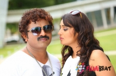 Nikitha & Vikram Arya in Thale Bacholi Powder Hakoli
