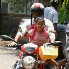 Surya's Ducati Bike