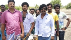 Veera Vamsam Movie Working Stills