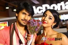 Vinod Patil & Sanjjanaa in Just Akasmika