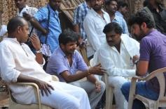 Anjala Movie Working Stills