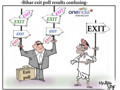 Bihar exit poll results confusing