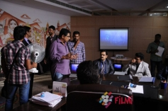 Shourya Movie Working Stills
