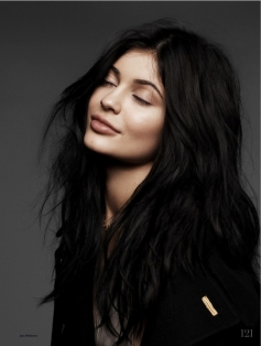 Kylie Jenner On Elle UK Magazine  February 2016