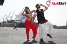 Prajwal Devaraj & Meghana Raj  in Bhujanga
