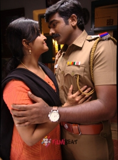 Remya Nambeesan and Vijay Sethupathi