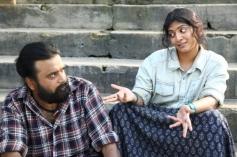 Sasikumar and Varalaxmi Sarathkumar