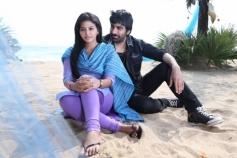 Tamil Actress Anjali & Ravi Teja in Yevanda