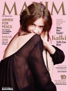 Kalki Koechlin On Maxim February 2016