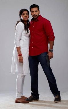 Lakshmi Menon and Jayam Ravi