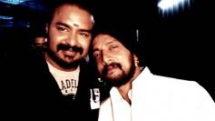 Naveen Krishna with Sudeep