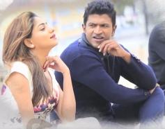 Puneeth Rajkumar & Rachita Ram in Chakravyuha