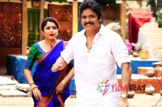 Ramya Krishnan and Nagarjuna