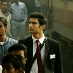 Sushanth Singh Rajput as Ticket collector in MS Dhoni Movie