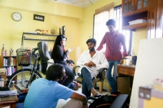 Chennai 2 Singapore Movie Working Stills