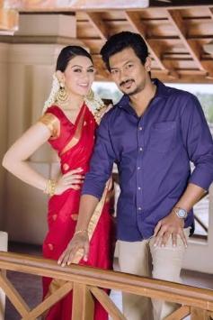 Hansika Motwani and Udhayanidhi Stalin