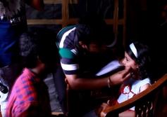 Nainika On the Set of Theri