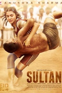 Anuskha Sharma Sultan Movie Poster