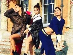 Nargis Fakhri, Jacqueline Fernandez & Lisa Haydon in Housefull 3