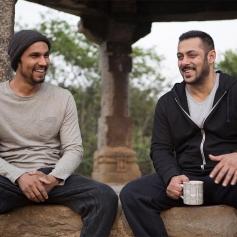 Salman Khan with Randeep Hooda