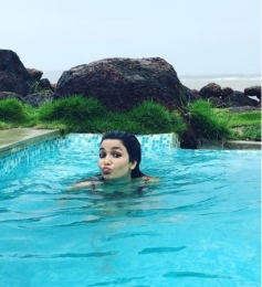 Chitrashi Rawat Holidaying in Goa
