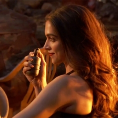 Deepika Padukone on the set of  XXX : The Return Of Xander Cage