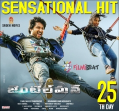 Nani's Gentleman Movie Poster