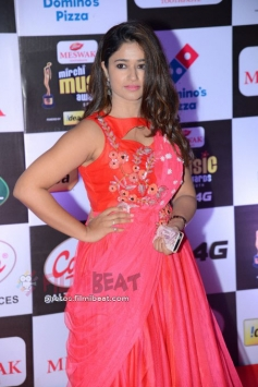 Poonam Bajwa at Mirchi Music Awards South 2016