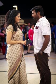 Ritika Singh and Vijay Sethupathi